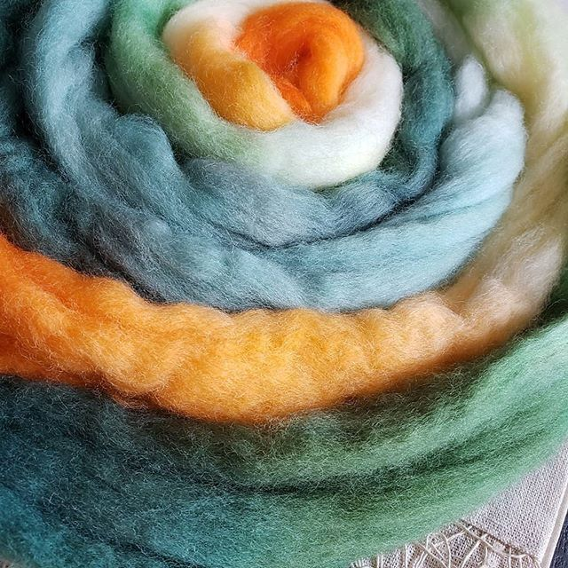 Reposted from @amara_moon_fiber_arts -  PRE ORDERS ARE AVAILABLE !!!!! Go to my Etsy shop to get yours :) the link is in my bio.  WOOOOOO!!! I'm doing my little happy dance!! @graceshalomhopkins and i are so excited for this.  Can't wait to see who will be riding with us this year during #tourdefleece2019  What you will receive with this pre order is 4 oz of a Targhee/bamboo/silk roving, Painted to resemble a lovely vintage inspired bicycle artwork.  You will also receive one fiber prep recipe, of your choice provided by Grace Shalom Hopkins.  Please mention which you would like in the comment section when you order.  This listing will be open until may 30th 2019, and orders will be fulfilled throughout the month of june.  #spinningfiber #yarn #fiber #fiberart #fiberartist #spinningwheel #spinningyarn #roving #handspunyarn #GLASG #handspinnersofinstagram #handspinner #dyeingfiber #dyersofinstagram #indidyer #handdyedwool #wemakeyarn #semisolid #handpainted #magical #makersgonnamake #tdf #tdf2019 #tourdefleece #bicycleart - #regrann