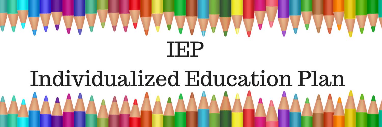 IEP Individualized Education Plan