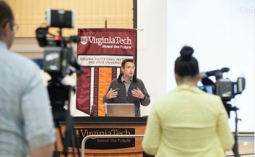 Source: Virginia Tech News Twitter