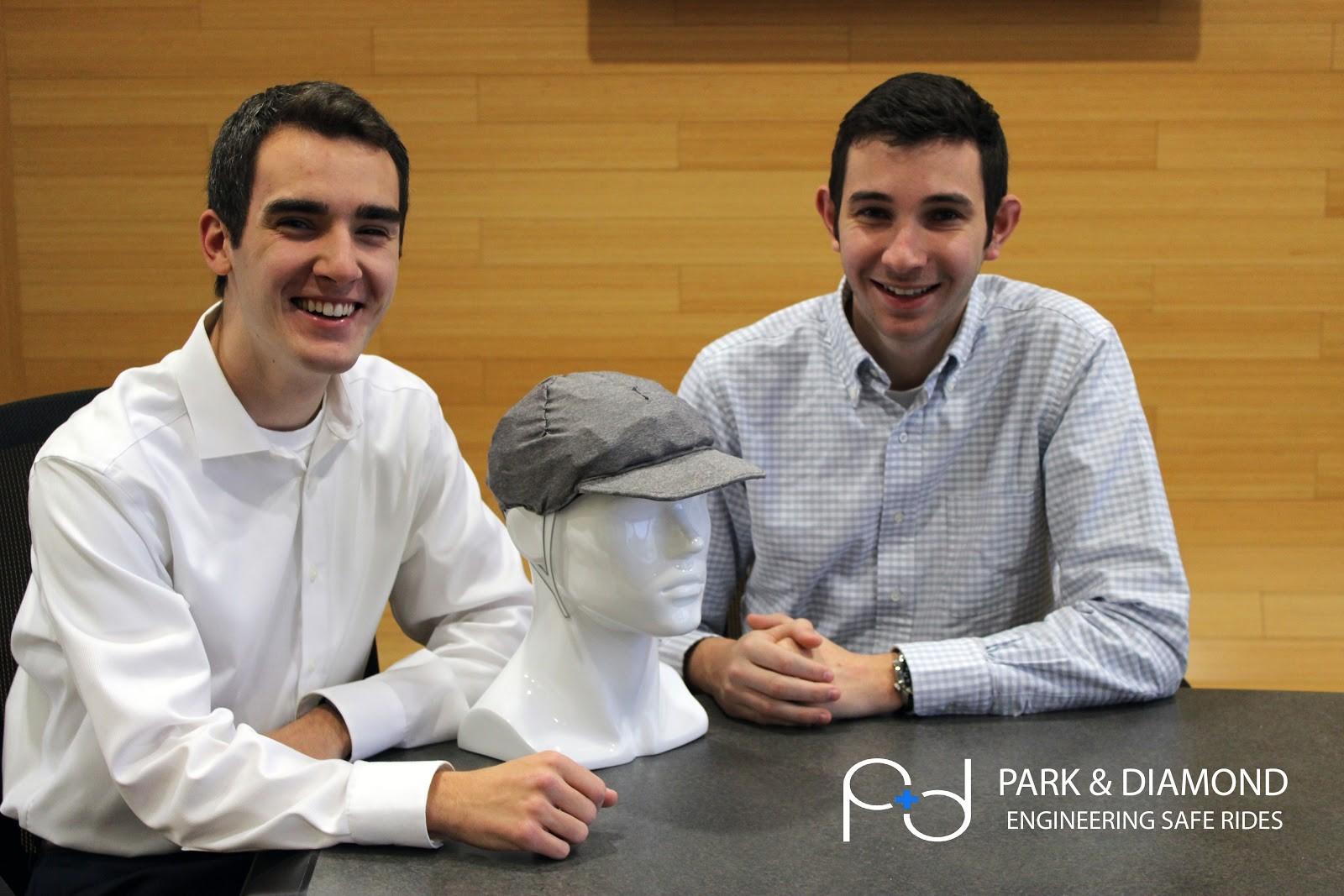 David Hall and Jordan Klein, co-founders of Park & Diamond