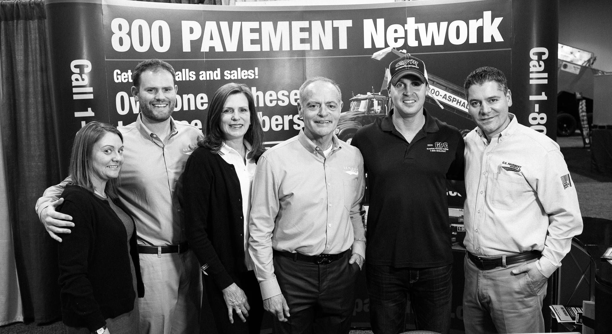 Clay Greenfield with U.S. Pavement at the 2017 National Pavement Expo
