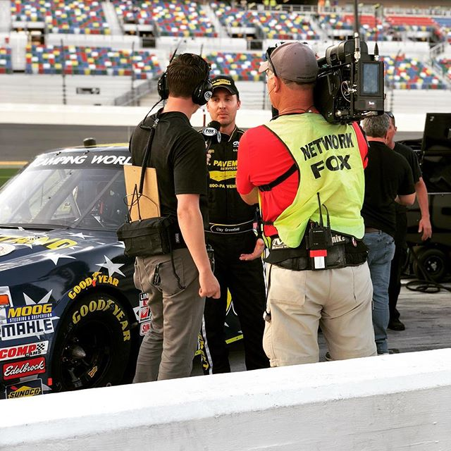 We are very happy with a 3rd position qualifying.  Looking forward to a great race! #nexteraenergy250 #nascar #nascarcampingworldtruckseries #campingworldtruckseries #daytona #nascarracing