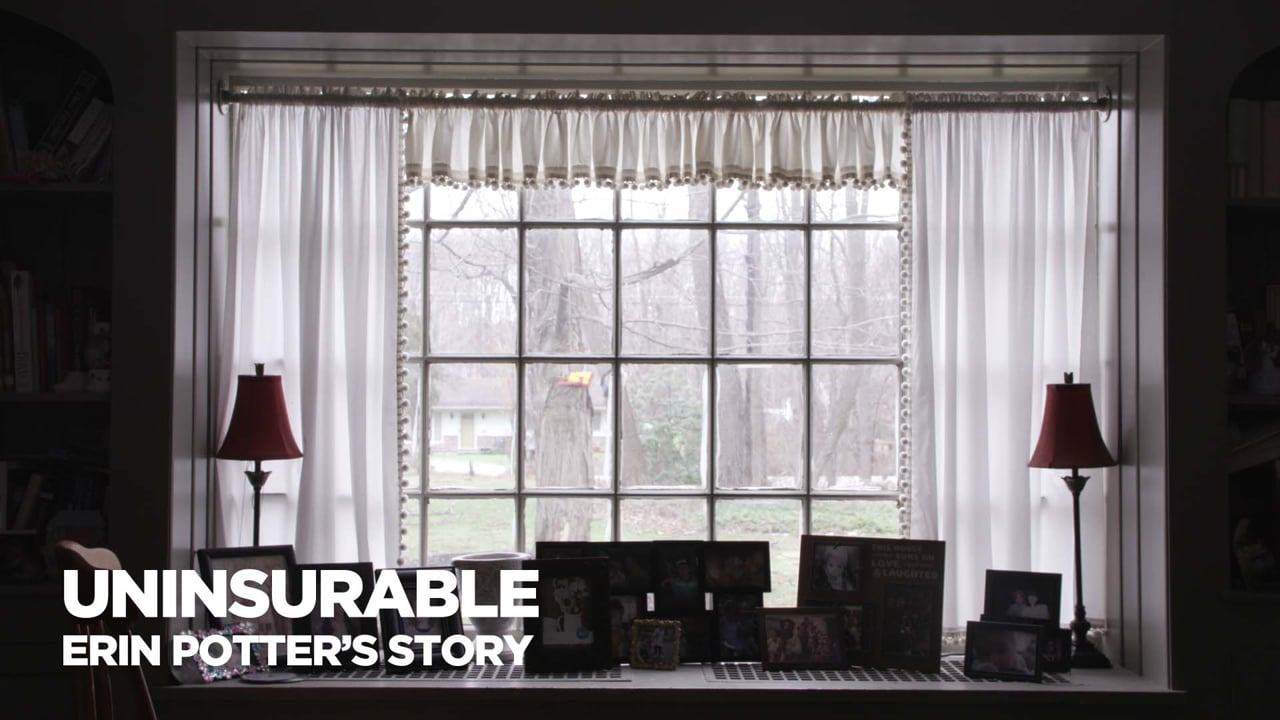 Uninsurable: Erin Potter's Story (2017) | Editor, DP, Co-Producer
