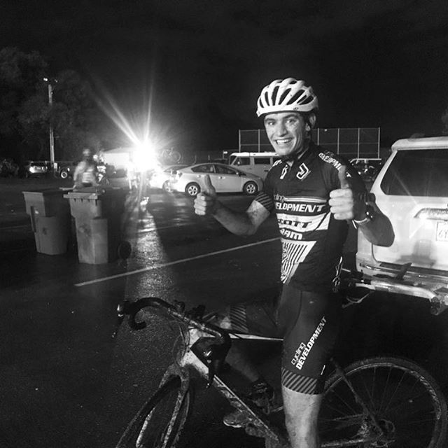 Had a great time racing in the mud tonight  at @folsomrodeocross  #cyclocross
