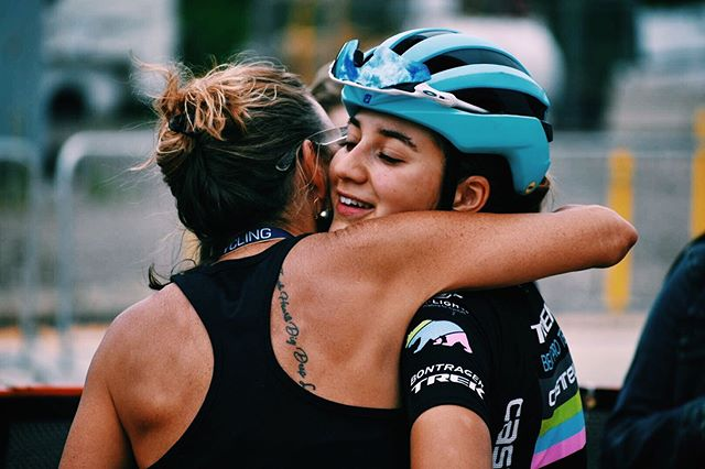 Ended nationals on a high note with a top 10 finish in u23. Very happy and thankful for this woman's love and support throughout this crazy season.