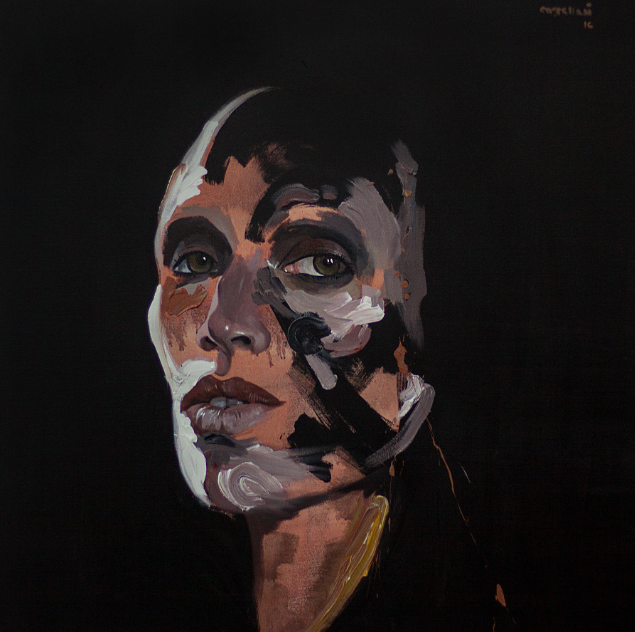Portrait of Carolina Sarria - Acrilyc on canvas.png