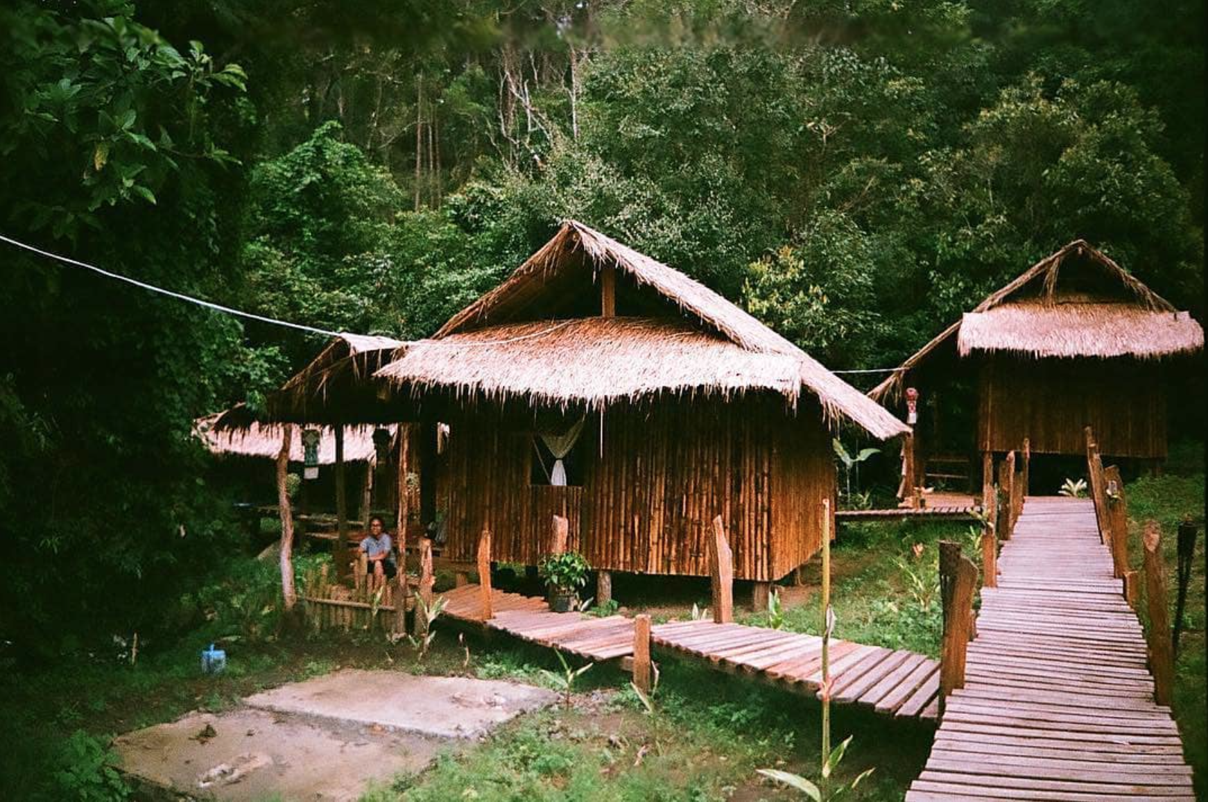 Chai Lai Sisters - bamboo cabins deep in the jungle