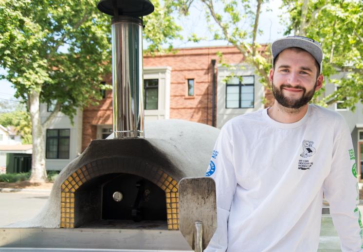 Ben Roberts, owner Pizza Supreme Being