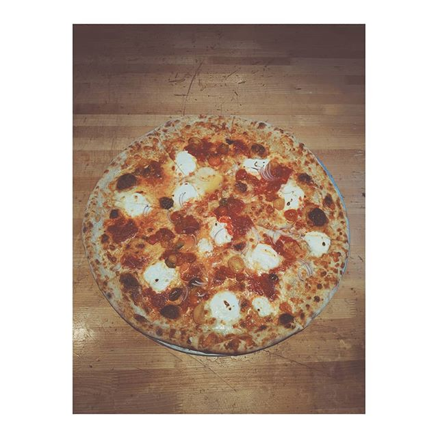 Special pizza to kick off pizza month 🙏🍕