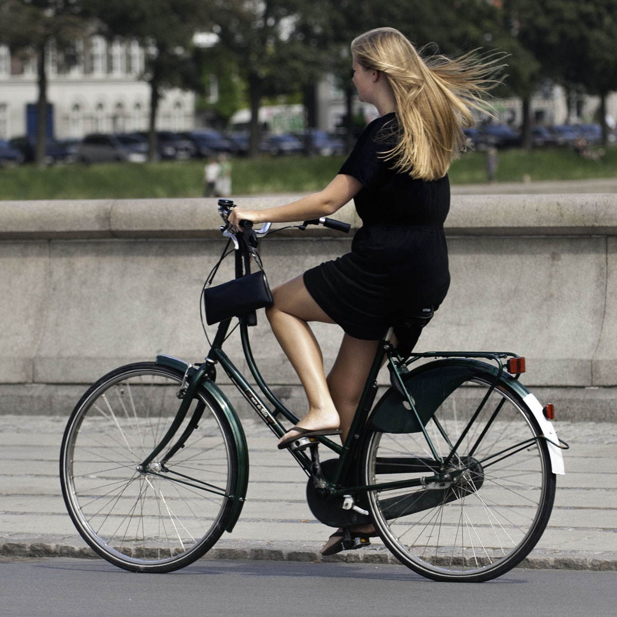 Tight for time? Bike to work. You'll be killing two birds with one stone.