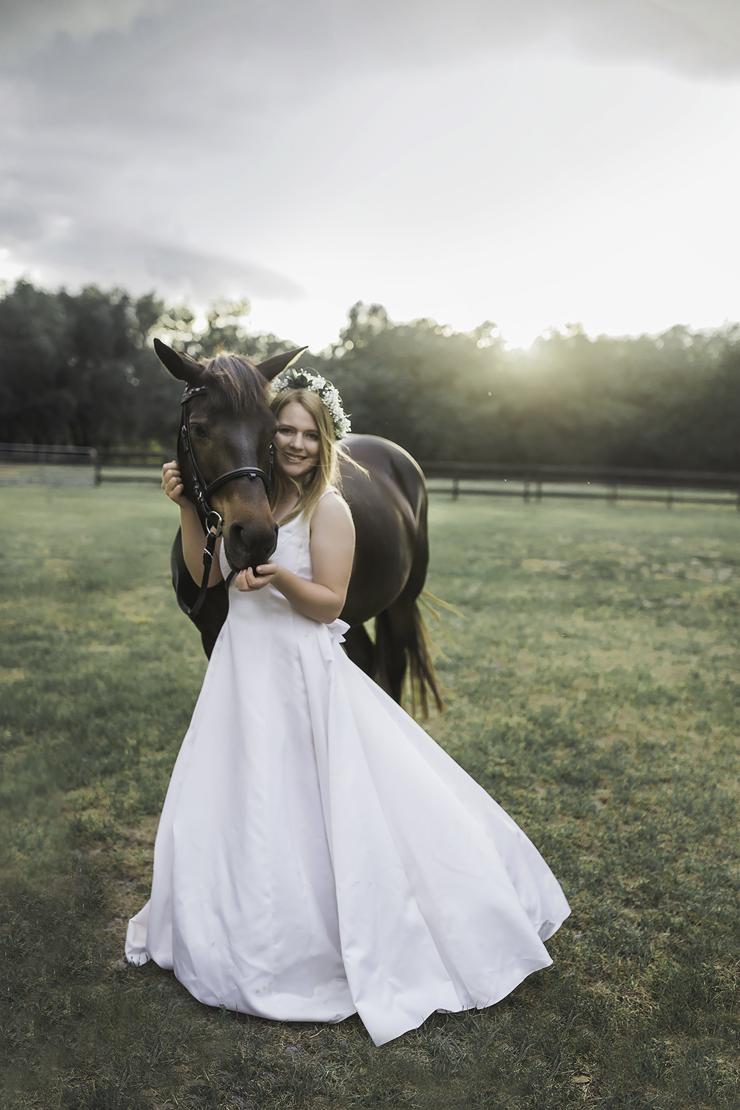 Midlothian VA Senior pictures with your horse