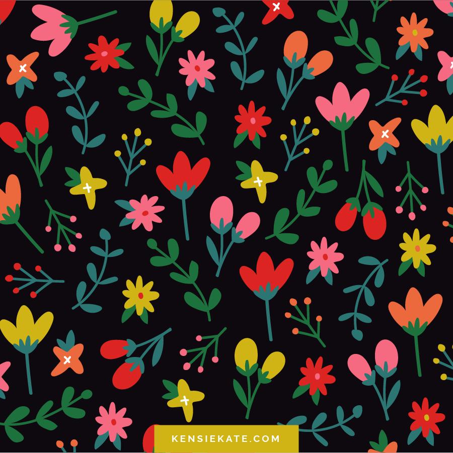 Happy Patterns by Kensie Kate