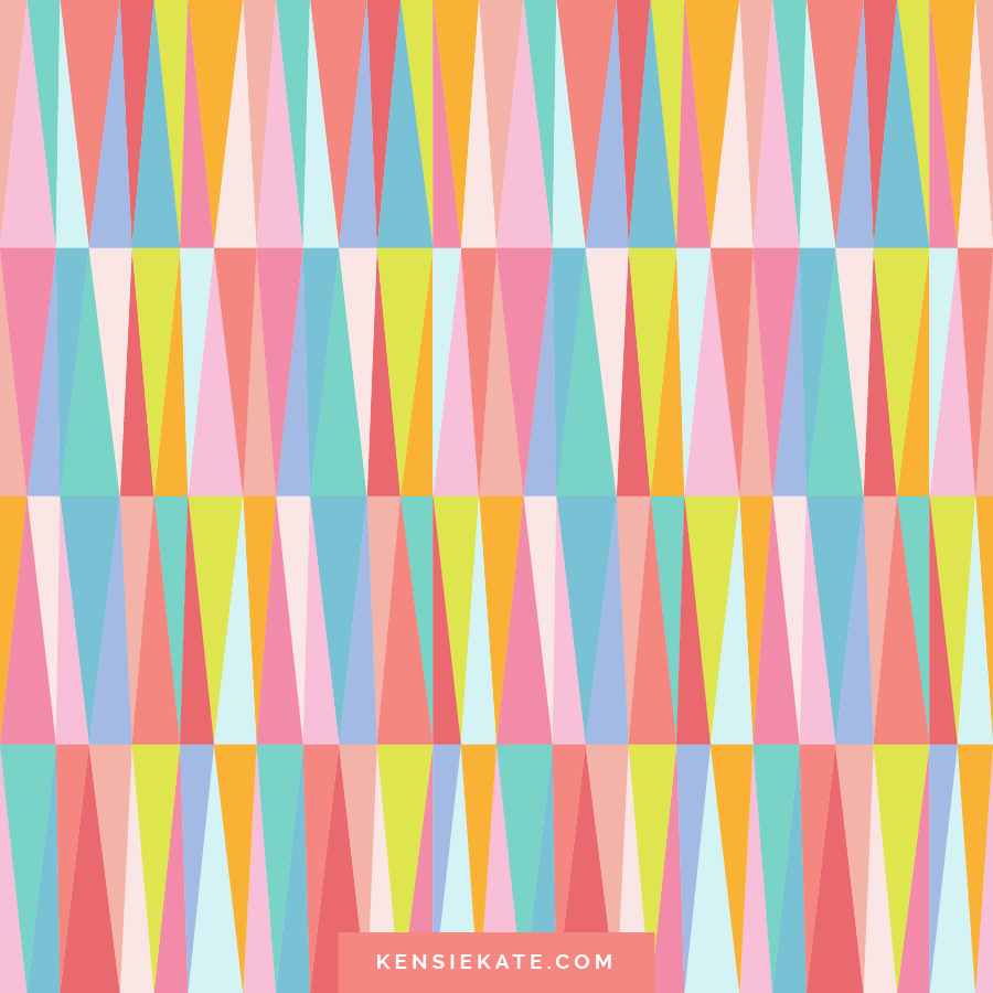 Happy Patterns by Kensie Kate