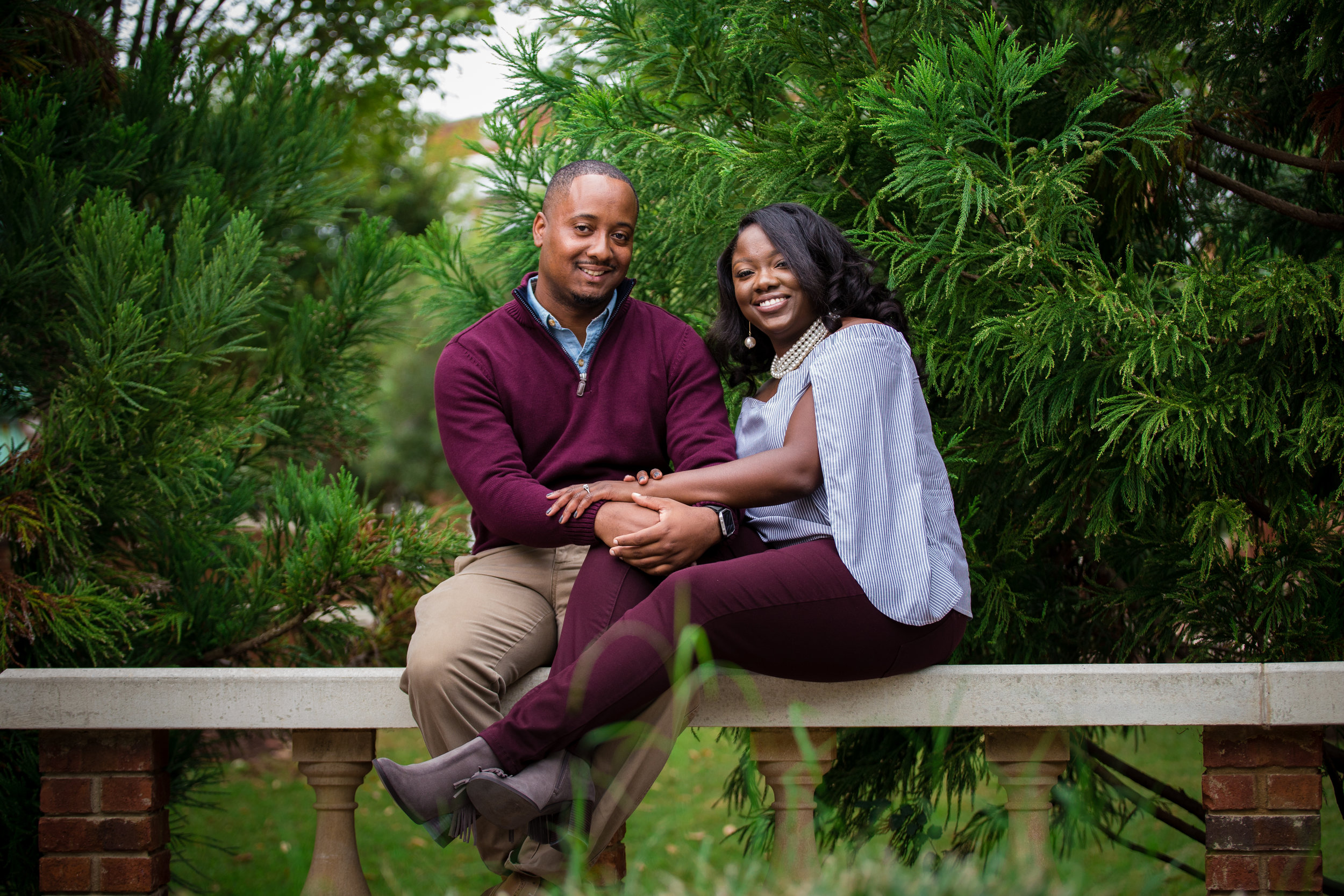 Caldwell/Cunningham Engagement Session - Oct 14, 2017