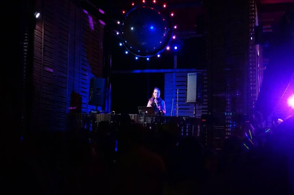 Sasha Rose at Symbiosis Festival