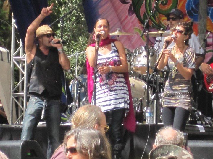 Sasha Rose with Blane Lyon and Kamiko