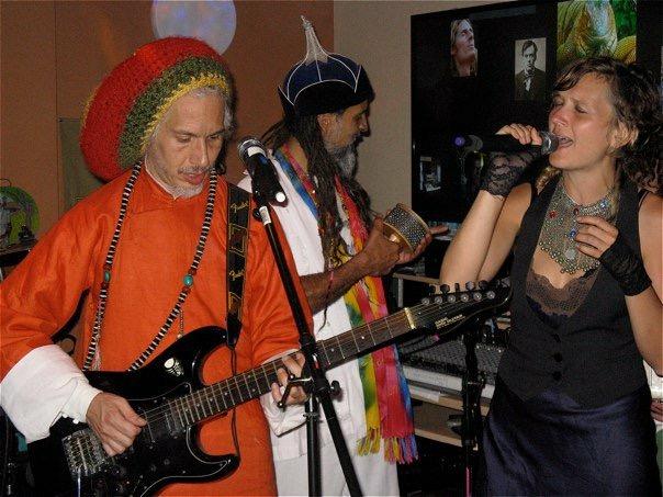 Sasha Rose with Jah Levi and Fantuzzi