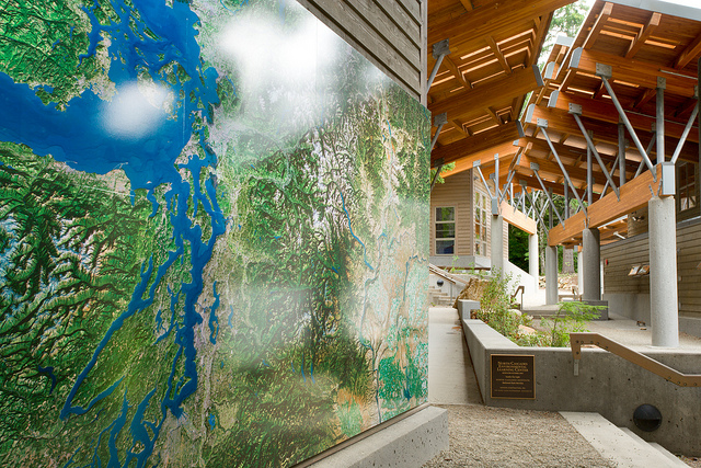 Meeting Area for Institute-Let Activities / Photo Courtesy of North Cascades Institute