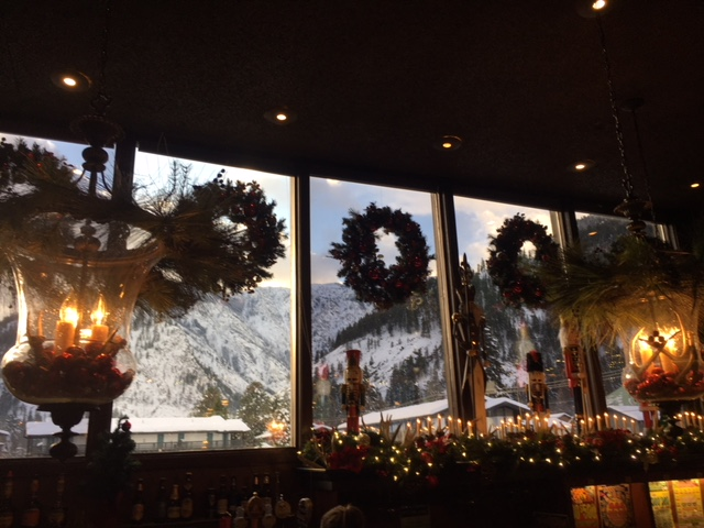 The View from the adults-only  Kristalls Lounge  in Leavenworth.    ADDITIONAL PHOTOS