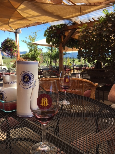 Marches Estate Vineyards Tasting Room and Patio