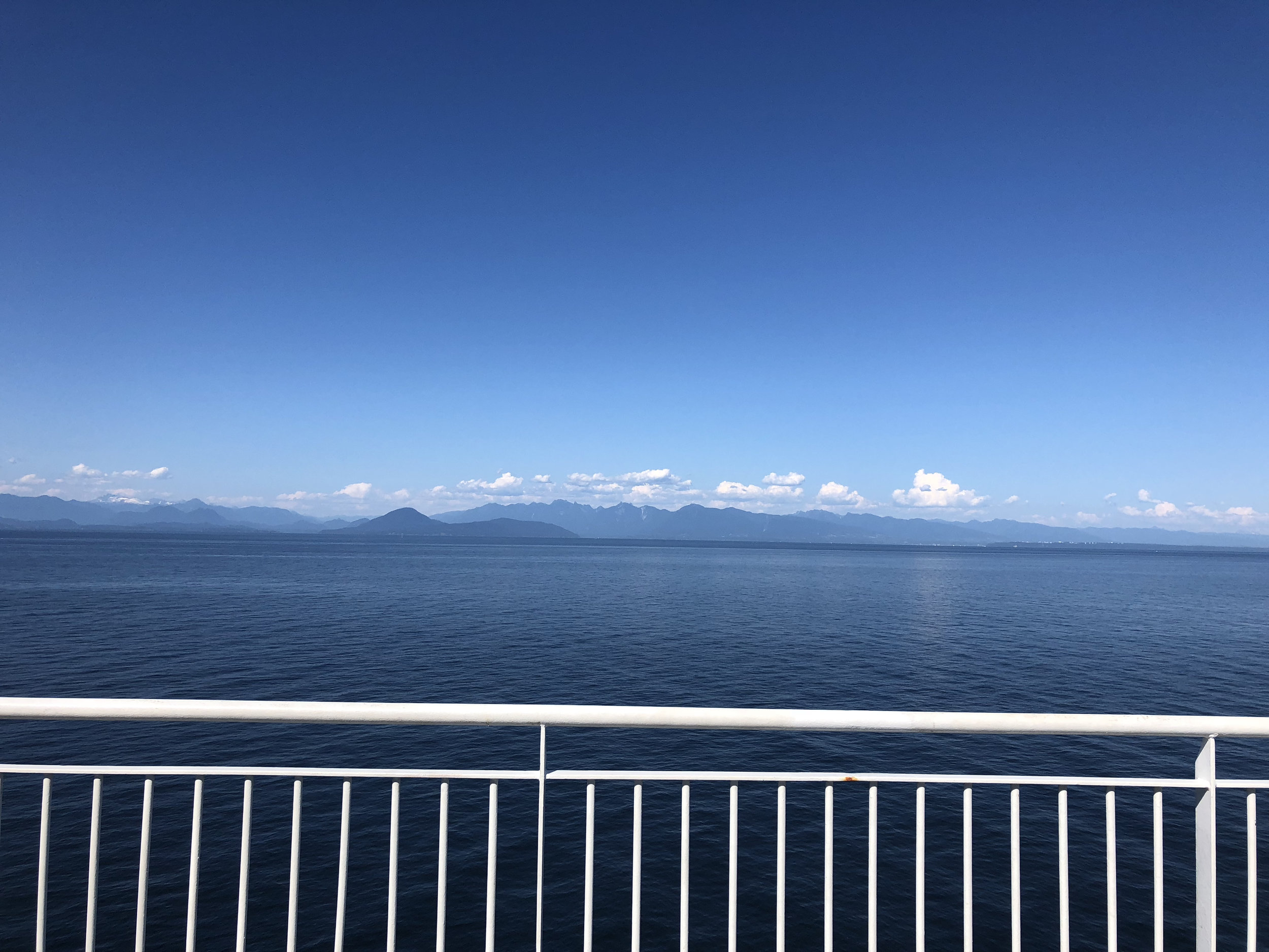 View from ferry back to mainland