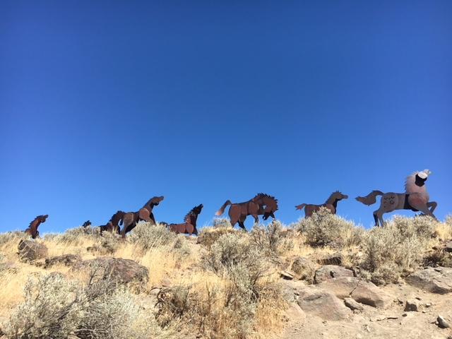 Wild Horses Monument, Vantage, WA