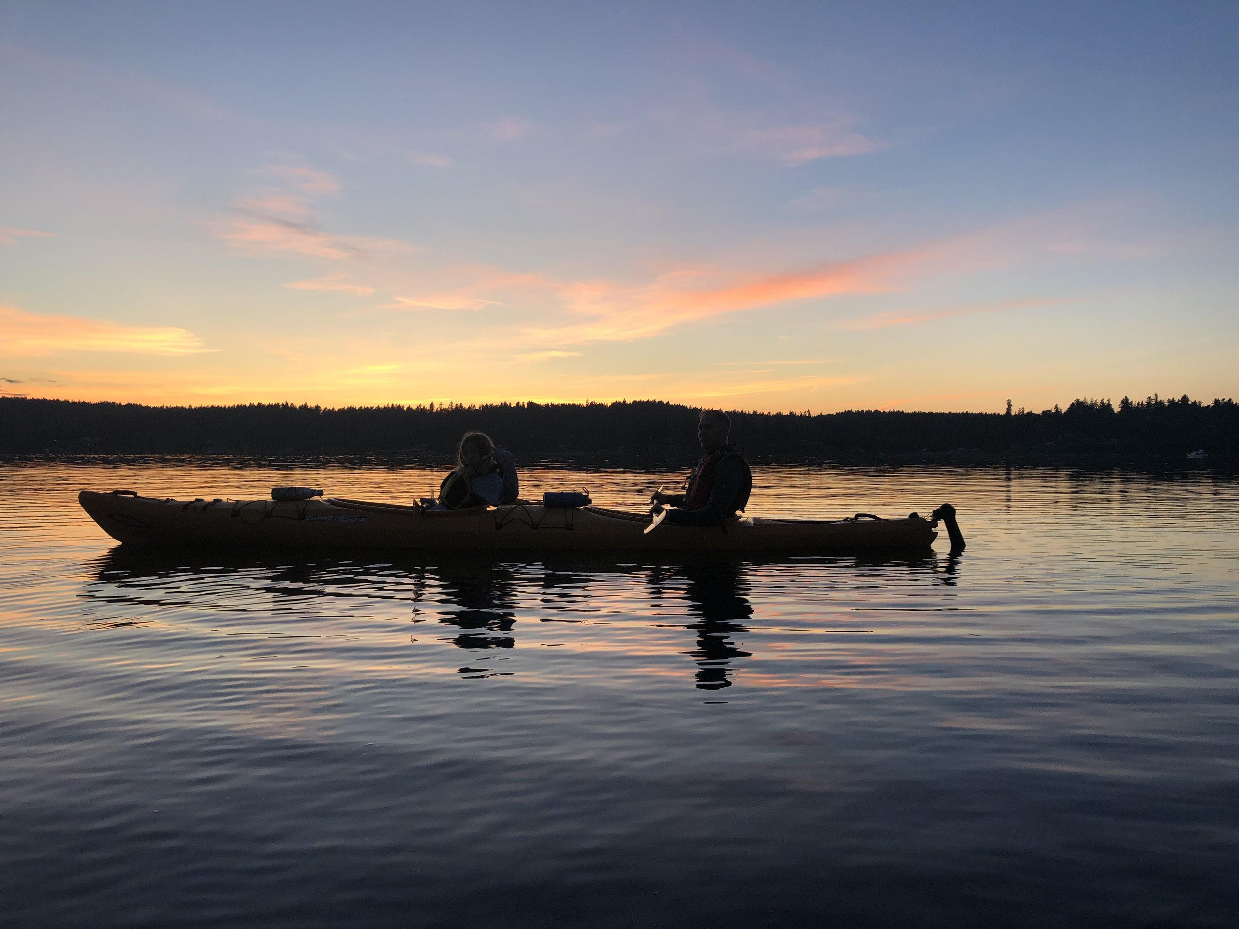 Full Moon Kayak with Vashon Watersports