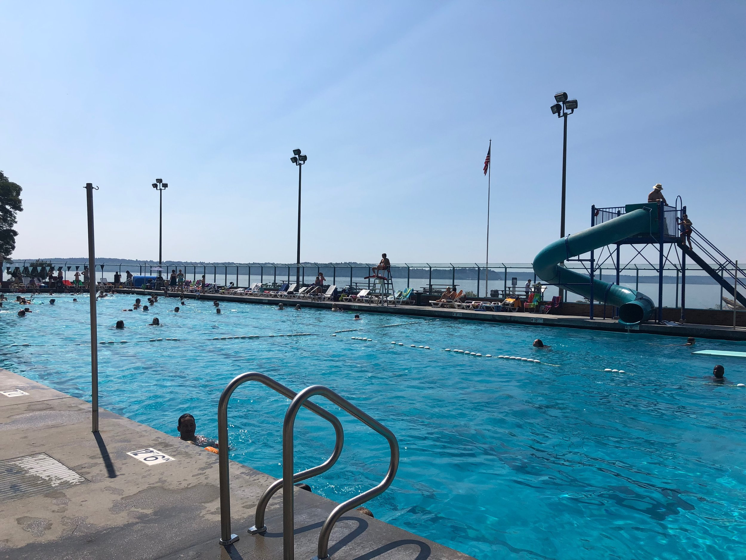 Coleman Pool on Puget Sound