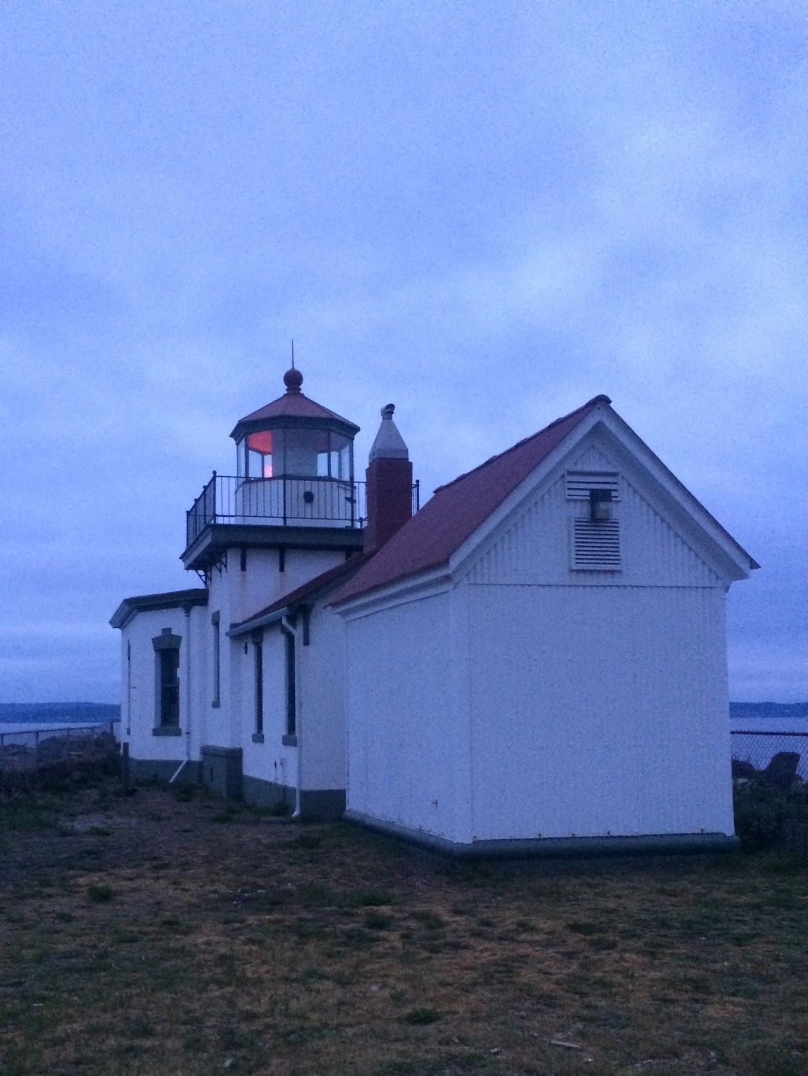 West Point Lighthouse in Discovery Park Photo by Samantha Goldstein