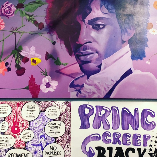 """Prince From Minneapolis"" Exhibit"