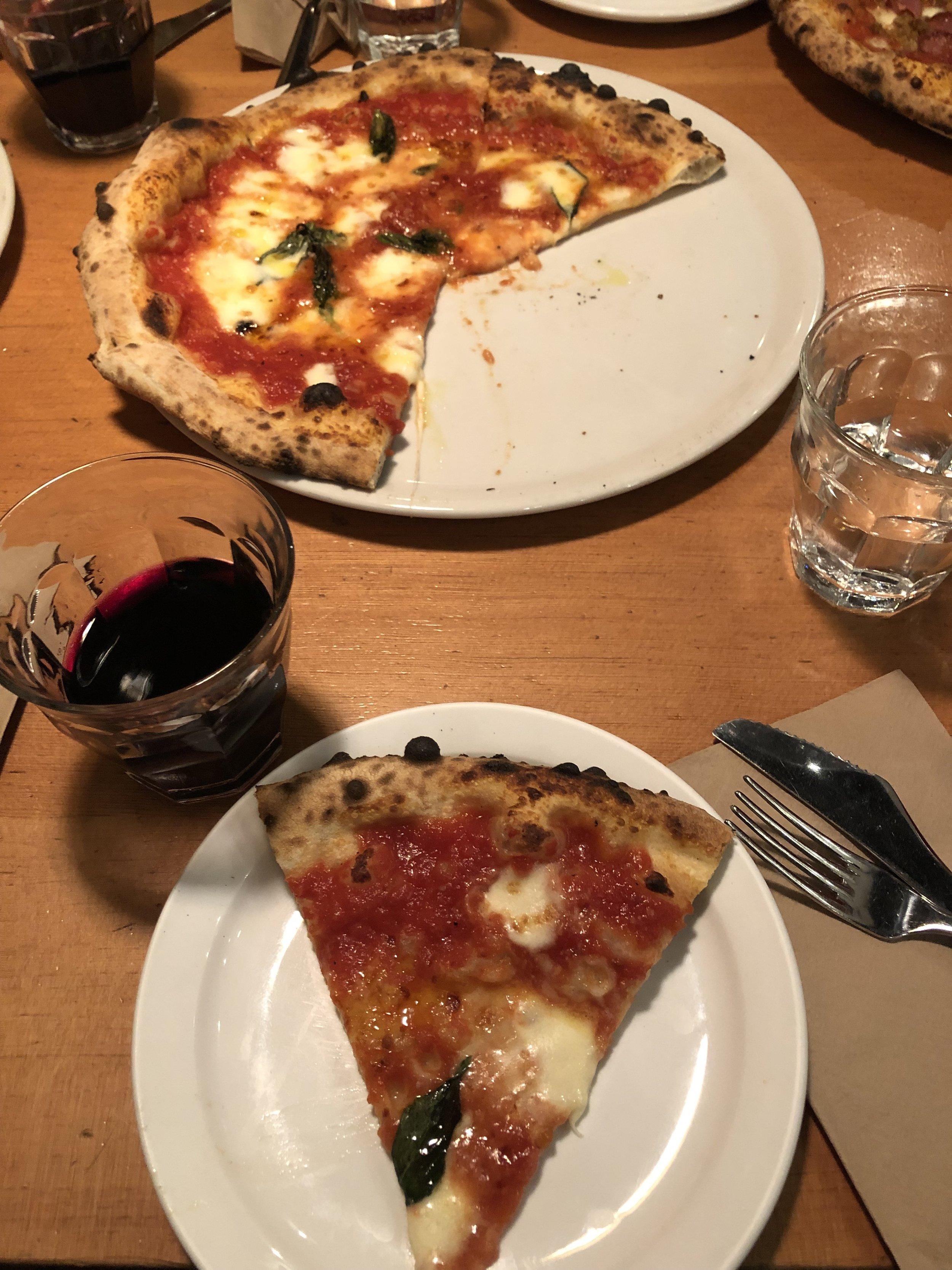 Pizza from Pizzeria Prima Strada
