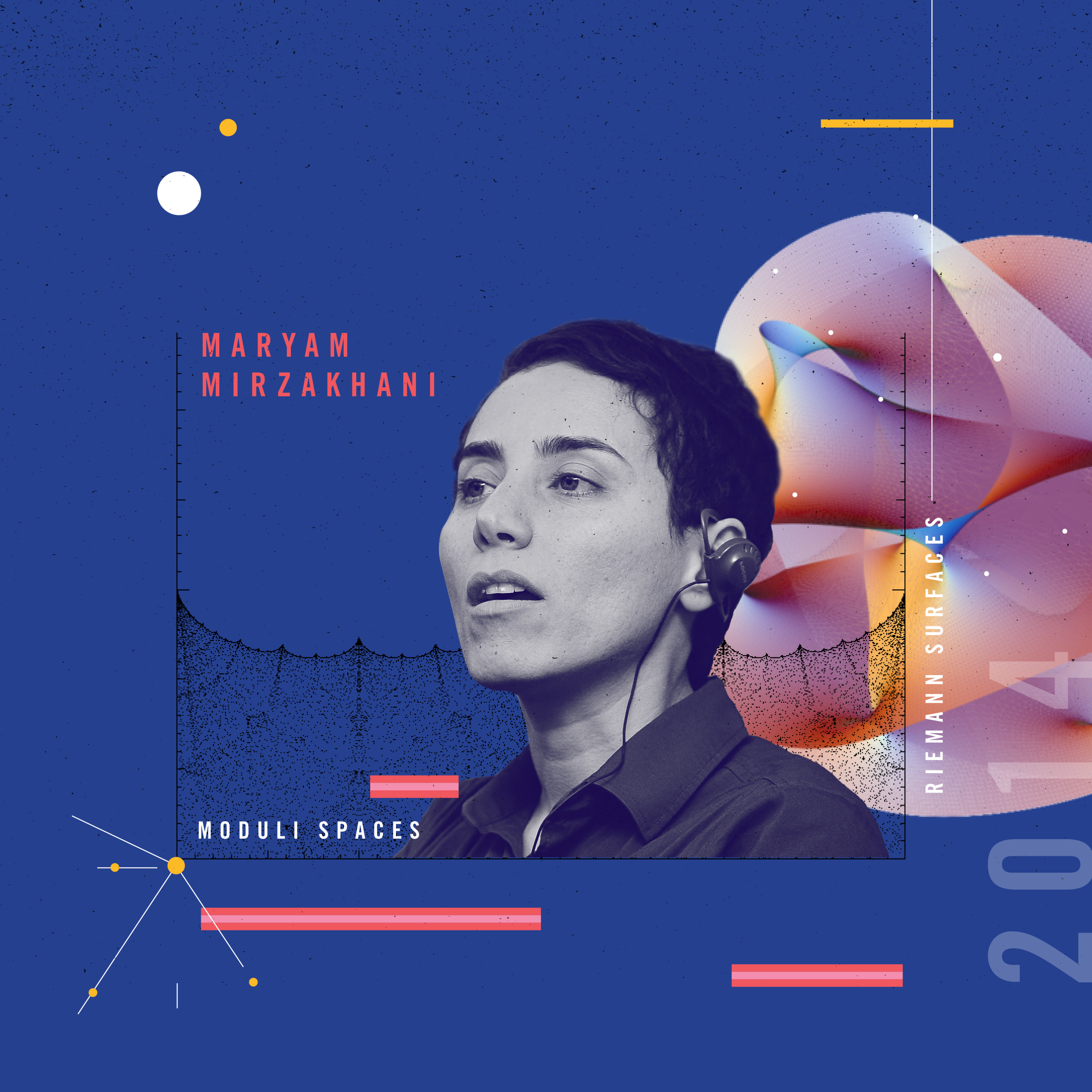 Maryam Mirzakhani — Beyond Curie—a design project celebrating women in STEM