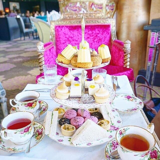 Afternoon Tea at The Villa by Barton G