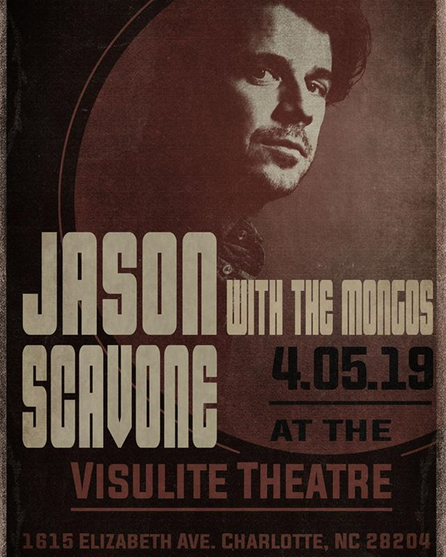 THIS FRIDAY our new side project @_the.mongos is opening up for my man @jasonscavone at @visulitetheatre. Thrilled to share the stage again with this #cltmusic local legend. Should be a good one.