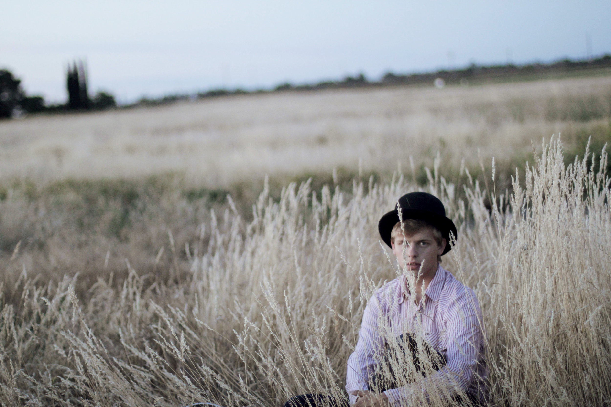 Connor in the Field