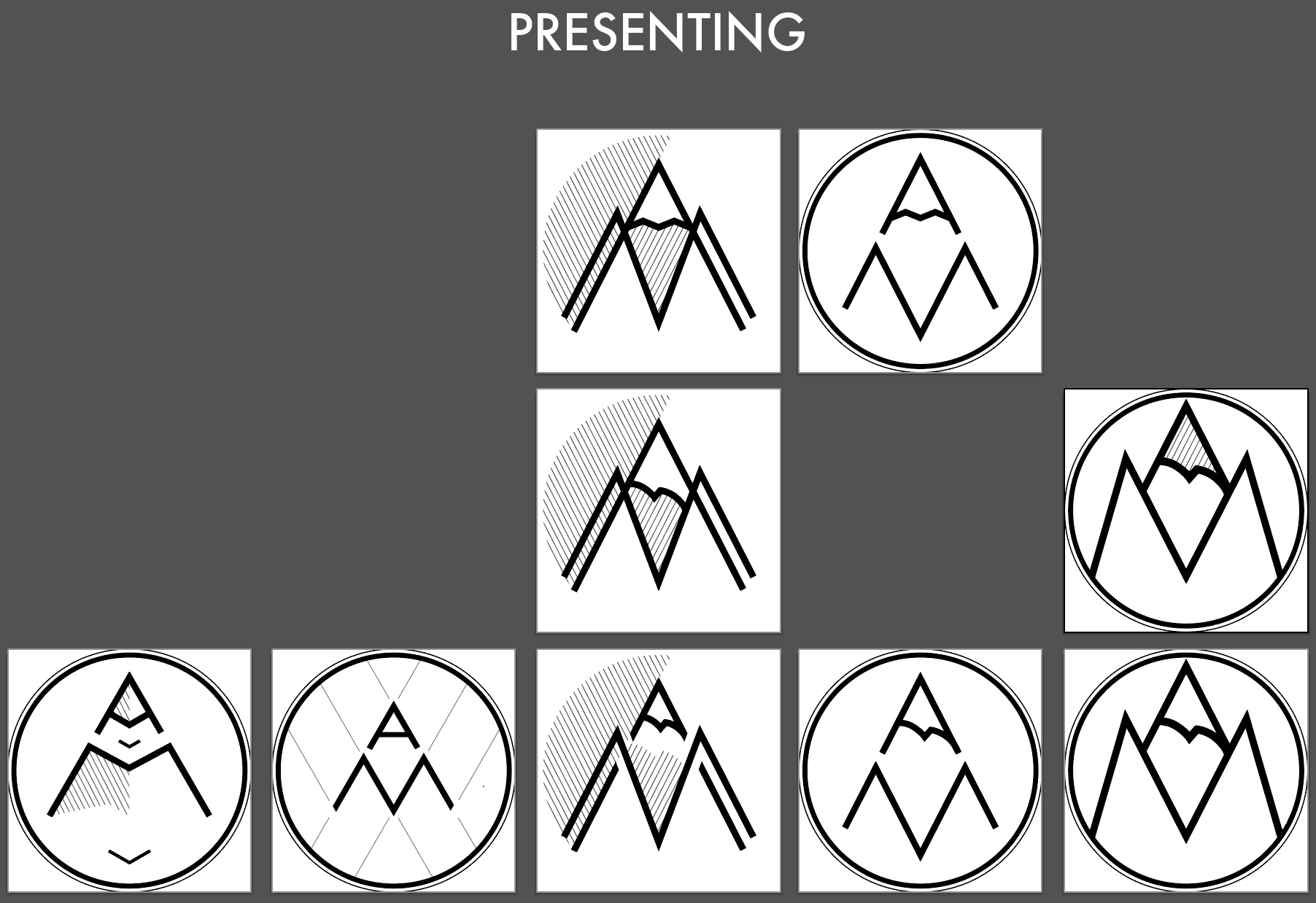 Isolated motifs to review with client