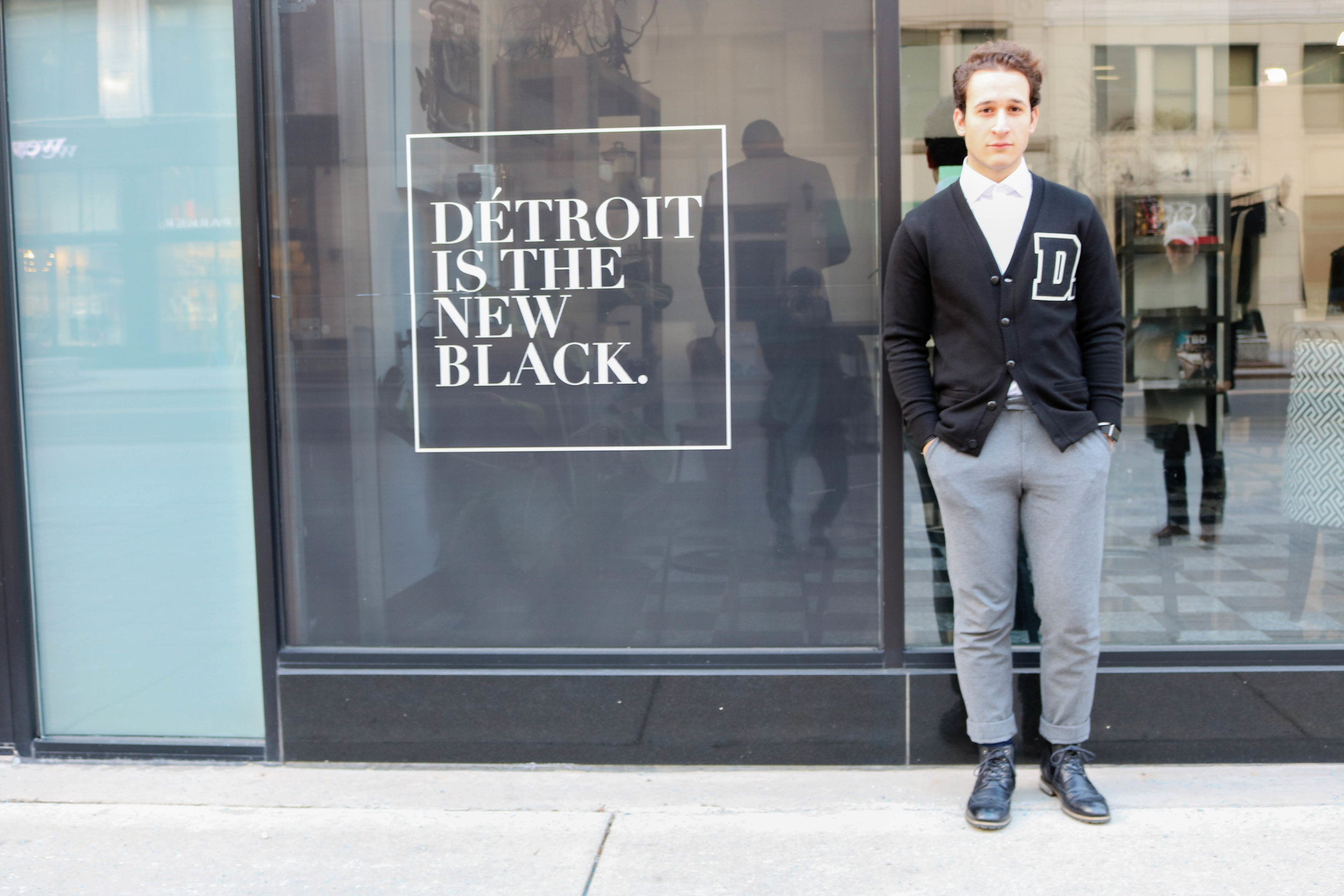 Look 2: D is for Detroit