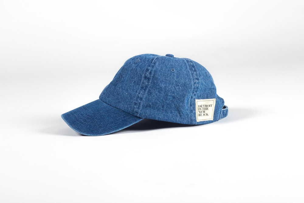 Détroit Is The New Black Jean Dad Hat