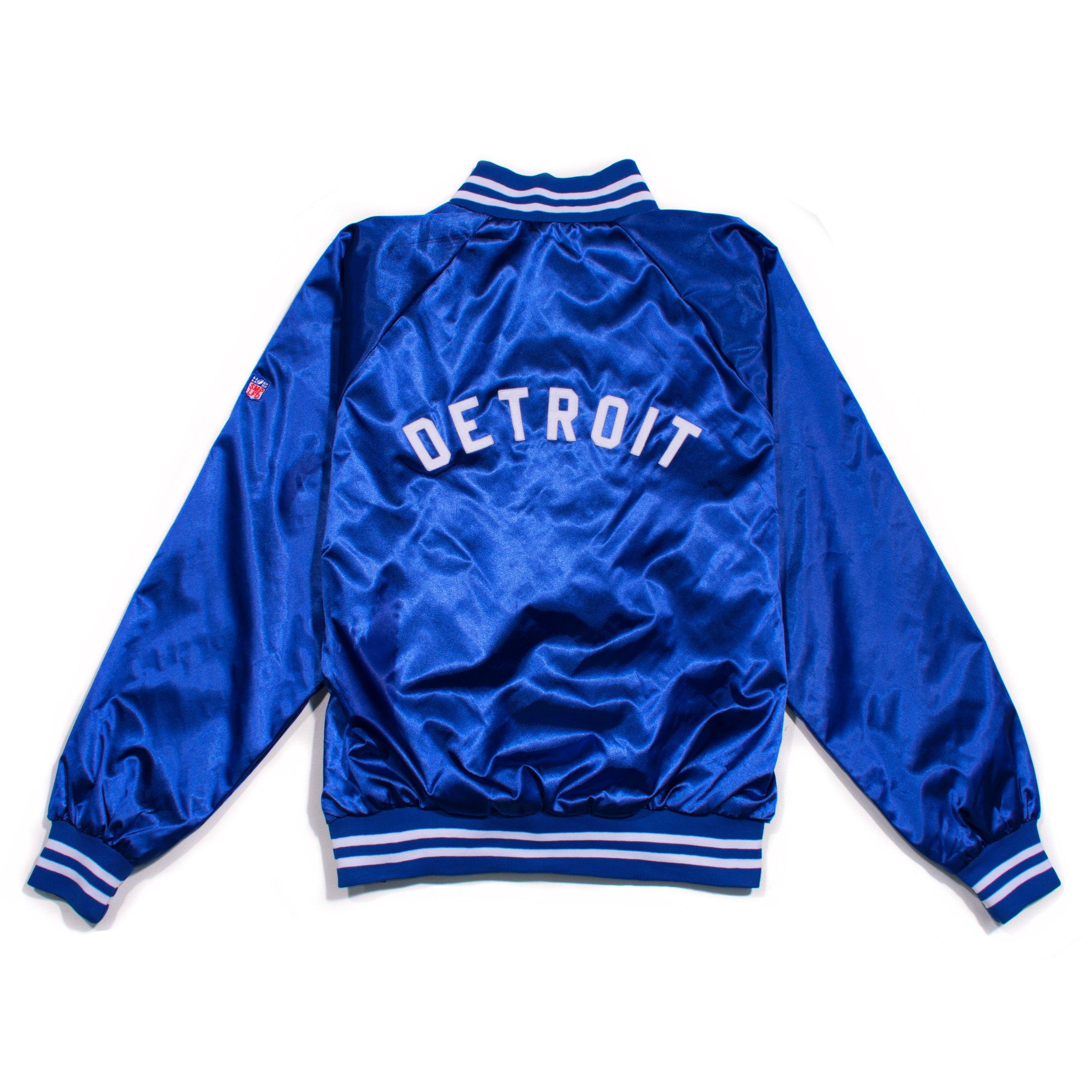 SMPLFD Detroit Football Satin Jacket