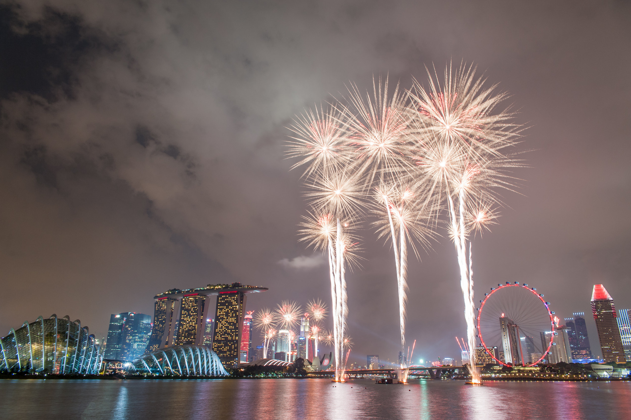 Singapore's National Day Fireworks Display