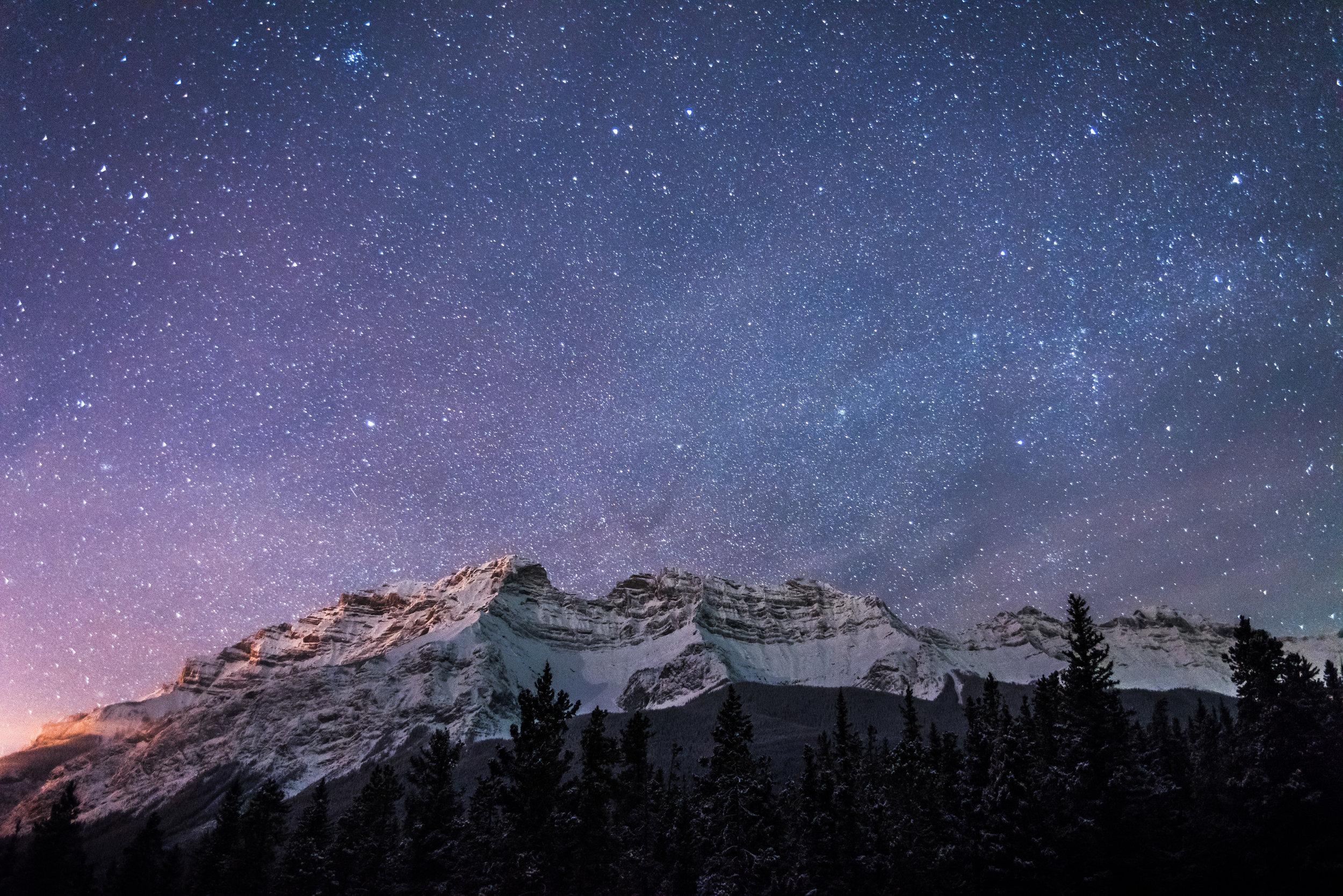 Banff Night Sky