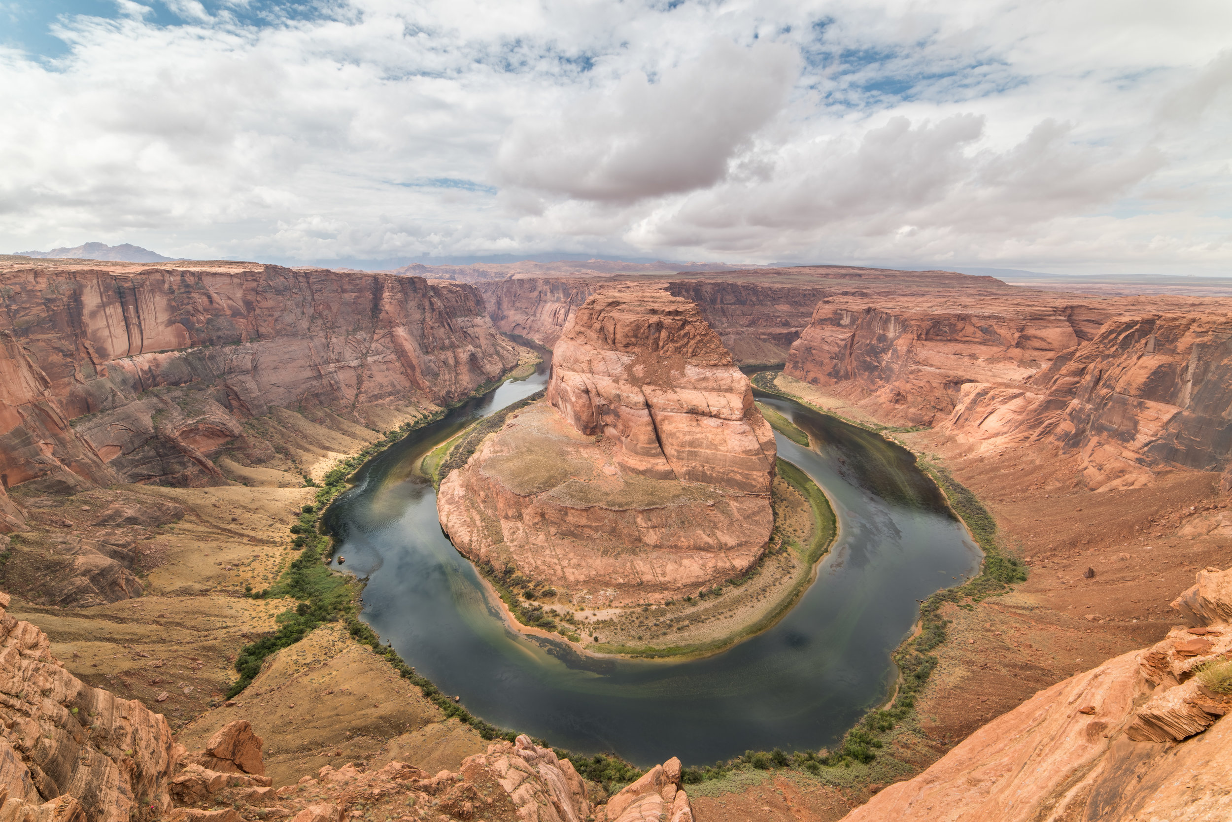 Horseshoe bend is a must see if you are in Page, Arizona! It's absolutely free and just a short hike from the carpark. Just be prepared for the crazy amount of other tourists and have enough water because it can get pretty hot.