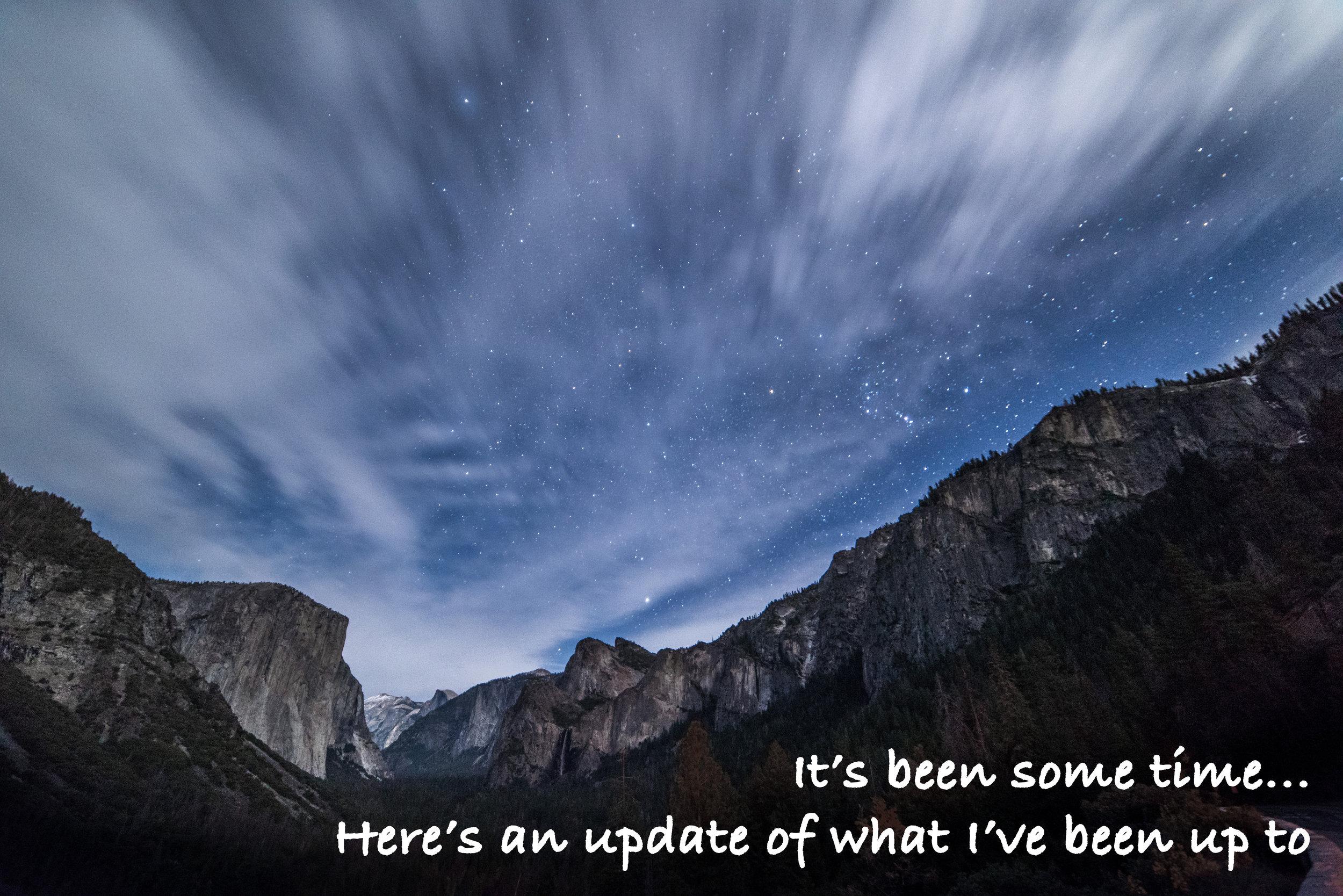 Photograph: Astrophotography shot at Yosemite National Park. (Nikon D810, 14mm, f/2.8, 30sec, ISO2500)