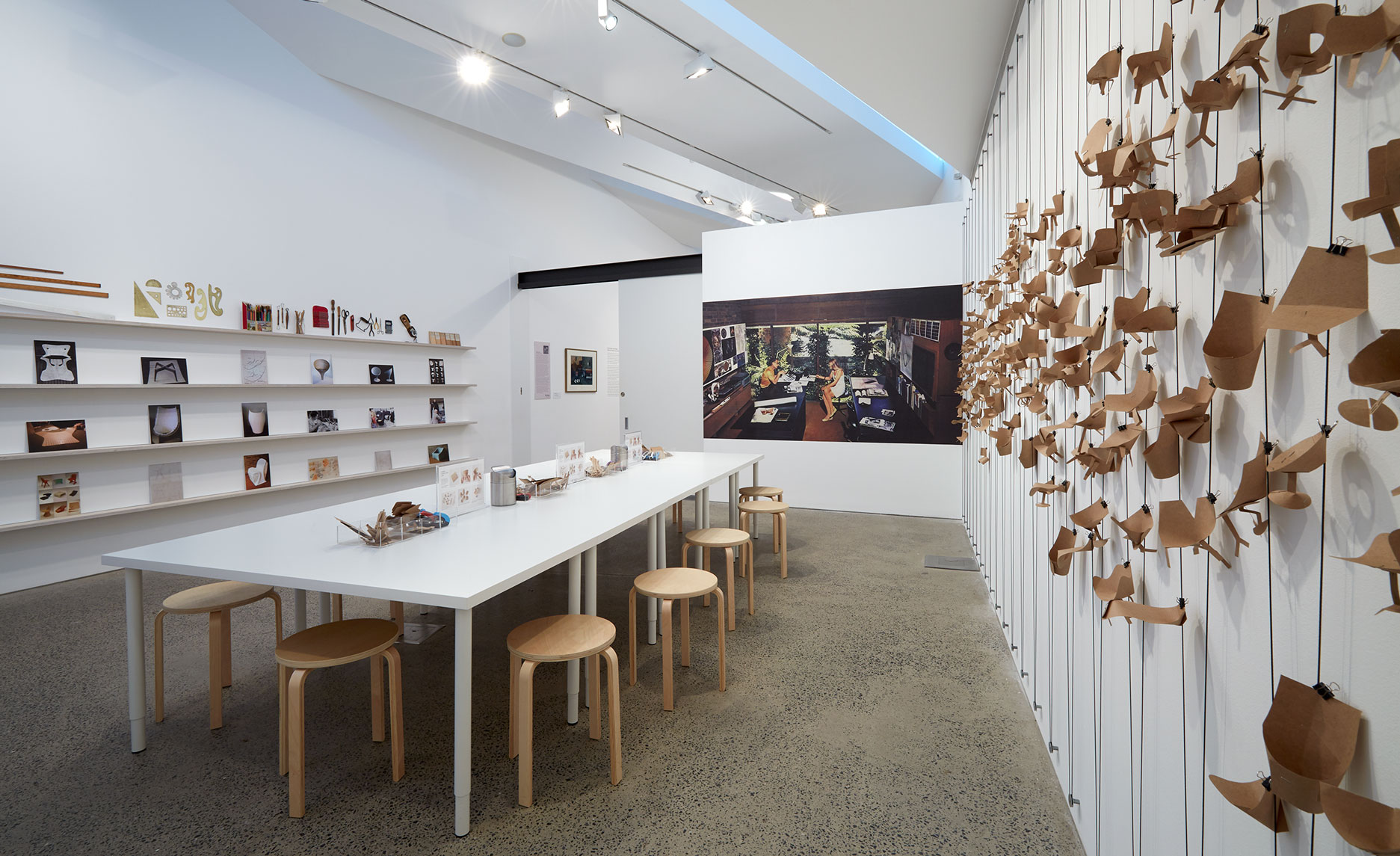 Paper Furniture Lab, Heide Museum of Modern Art