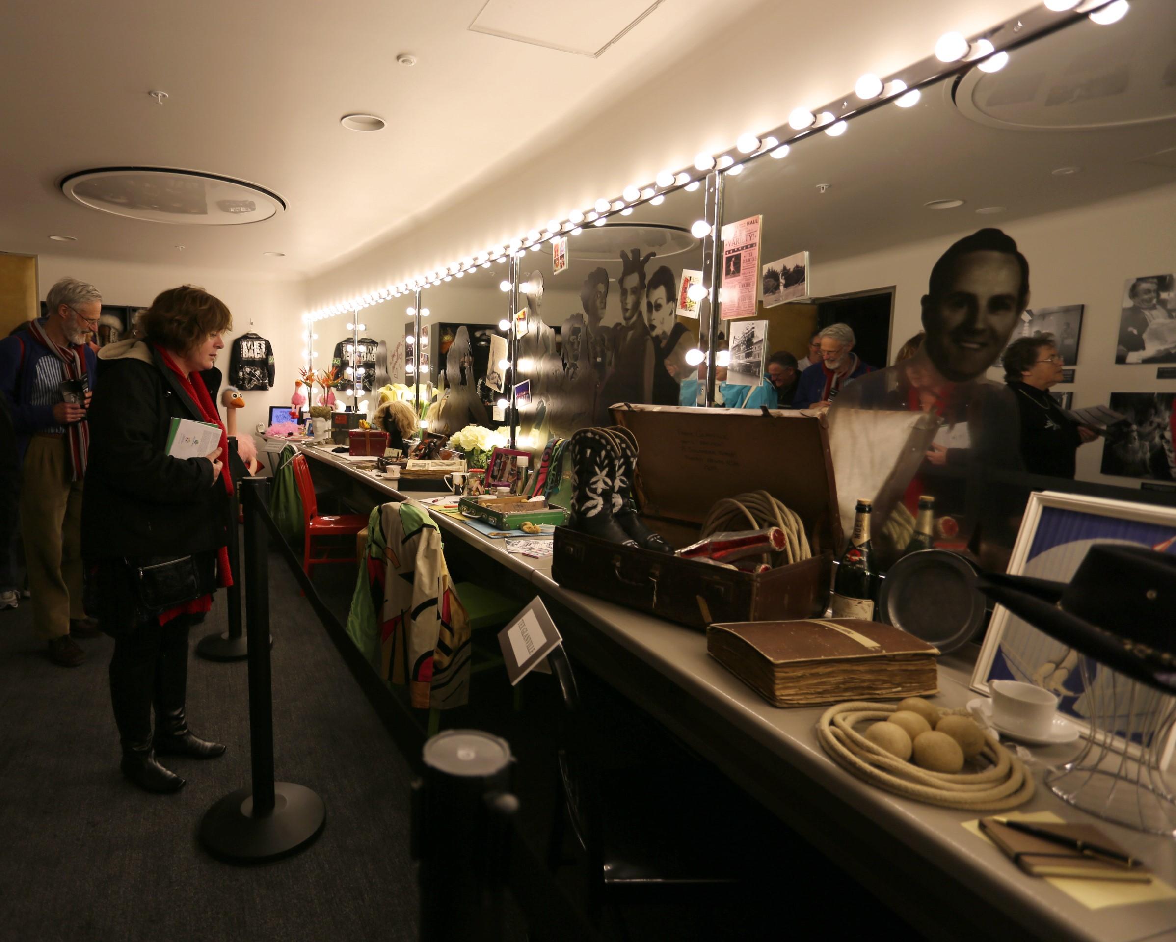 Dressing Room 34 installation