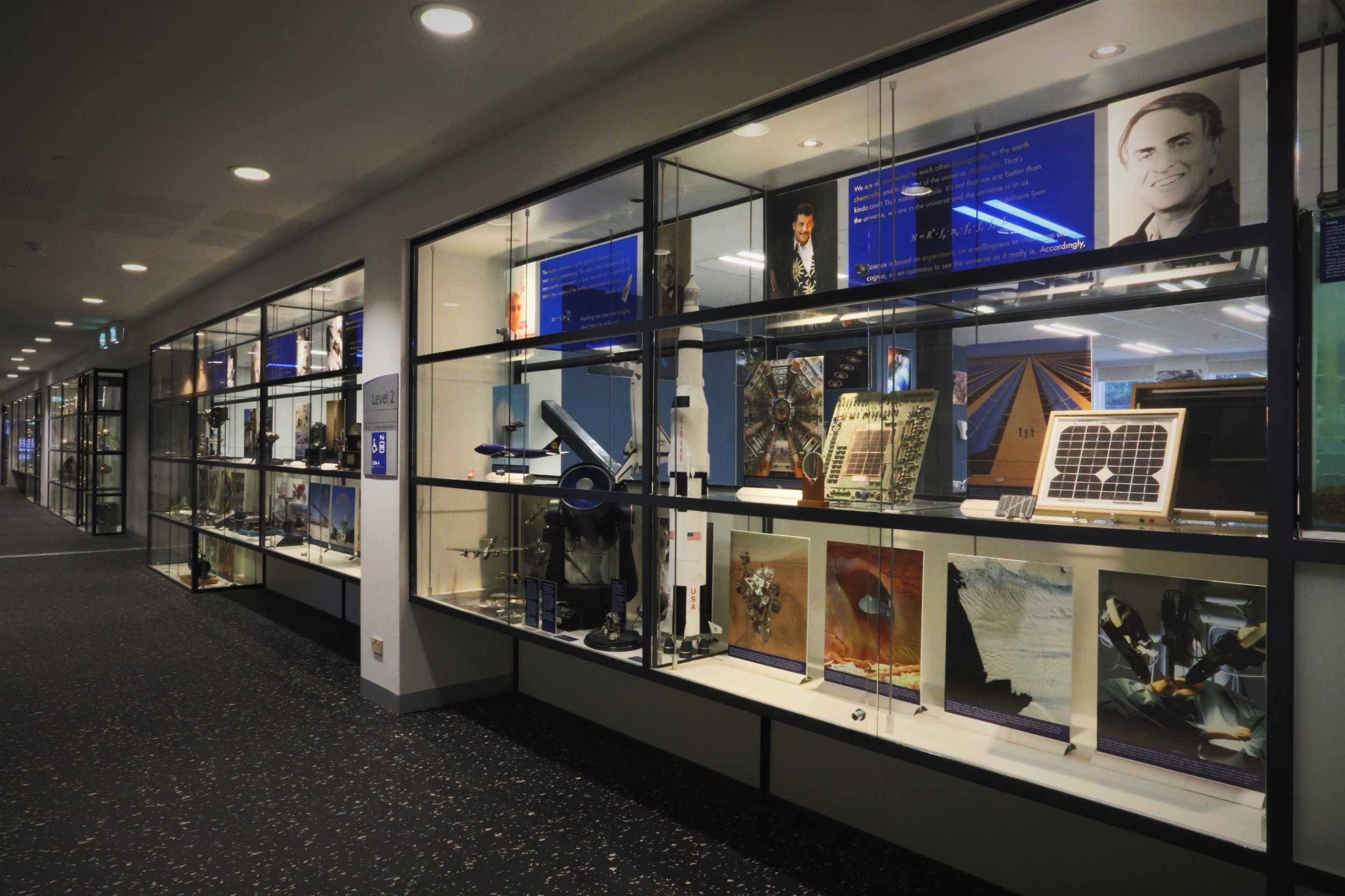Journey Through Science exhibition
