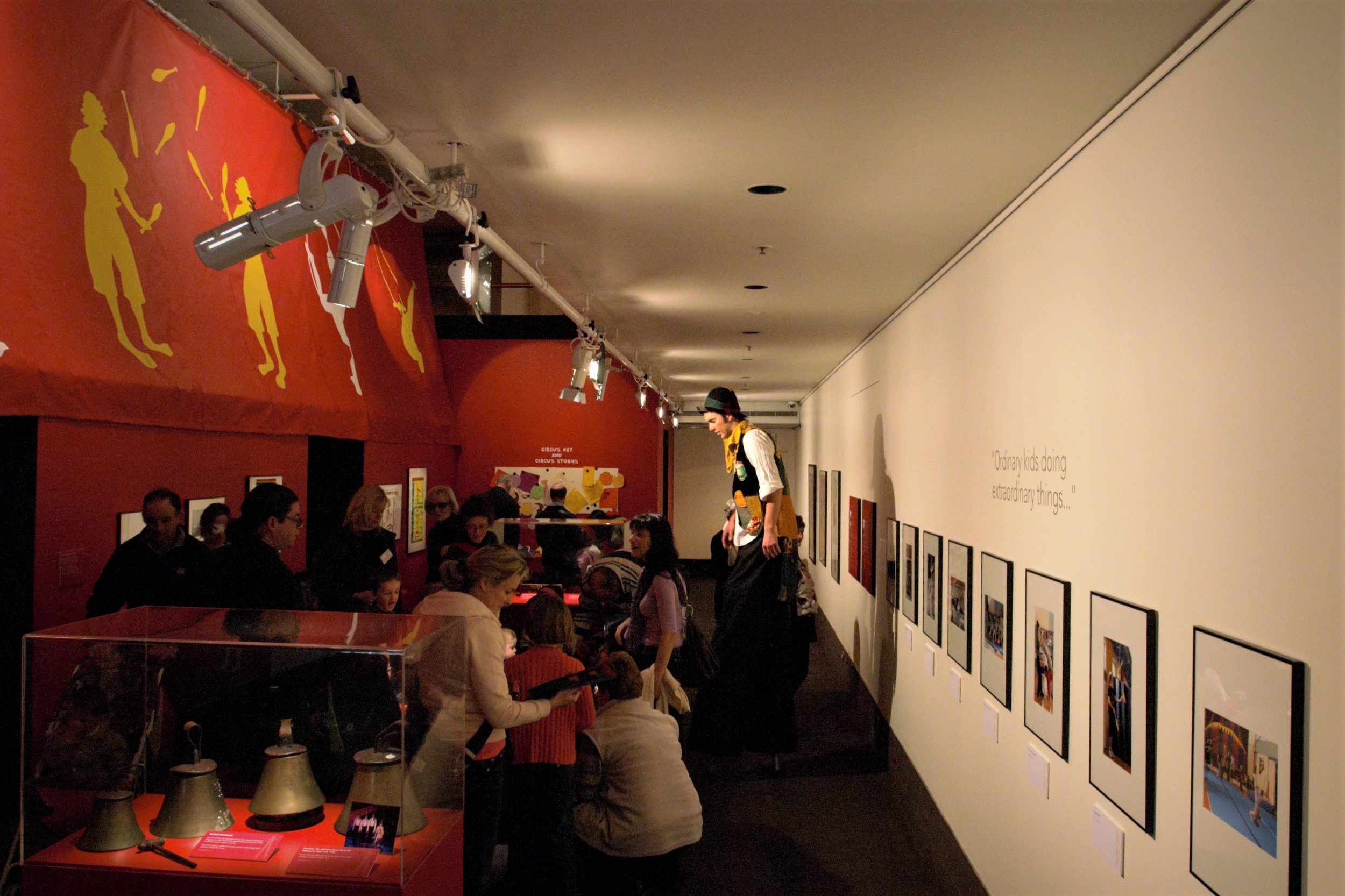 The Magic Tent exhibition