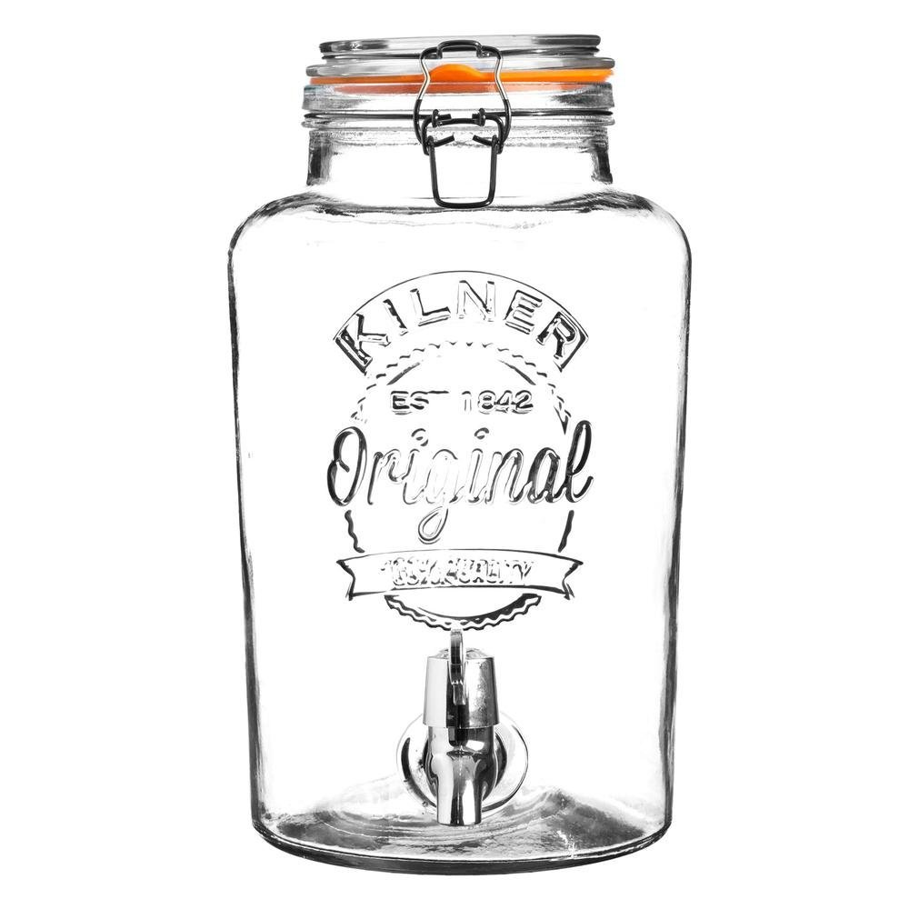 8 LITRE KILNER:Great for upscaling Kefir or Kombucha production, or storing filtered water. -