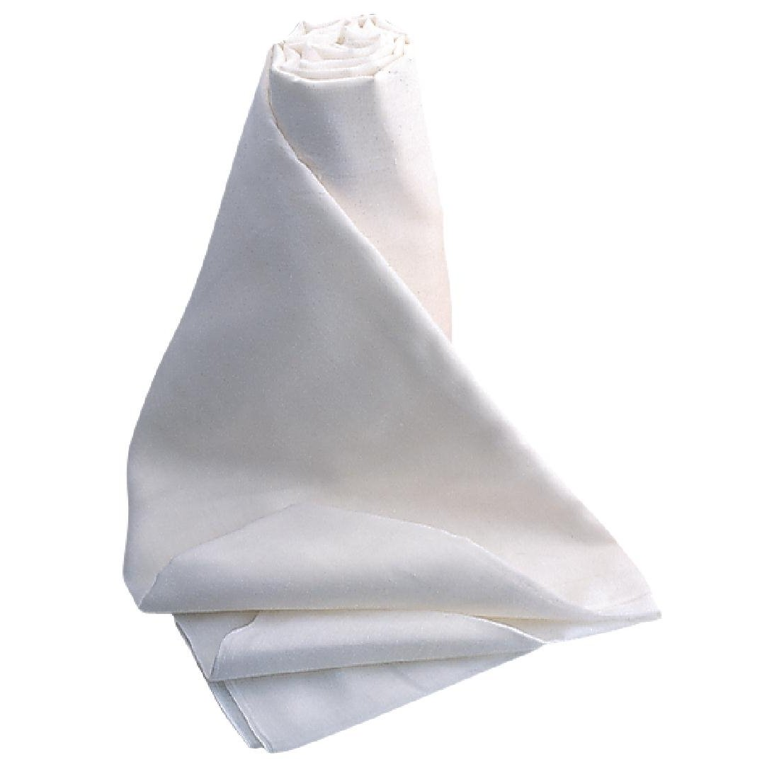 MUSLIN ROLL: Food grade, 100% cotton. Good to buy as a roll, so you can cut to size. -