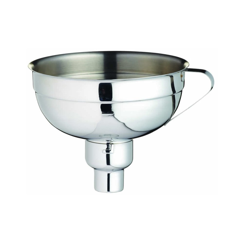 FERMENT FUNNEL: To avoid mess when packing jars or transferring vegetable ferments into smaller jars -